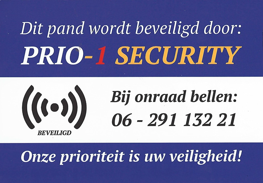 Prio-1 Security